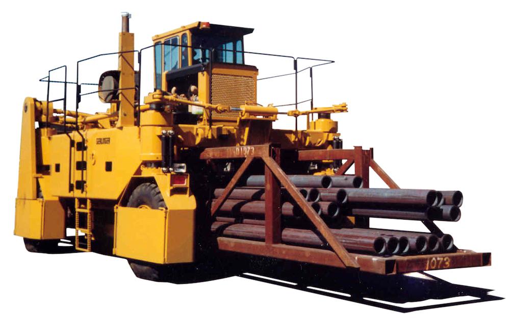 Carrier-hauling-steel-web