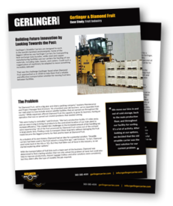 gerlinger fruit bin carrier